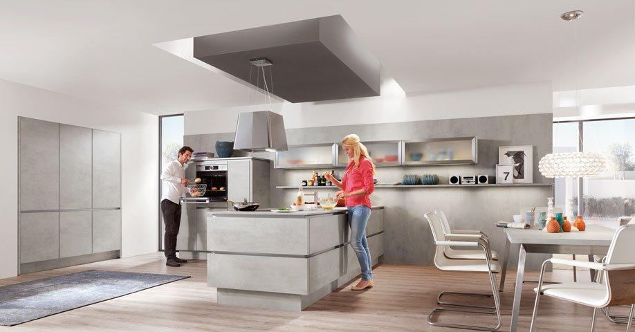 Nobilia küchen grifflos  Grifflose Küchen • HEM KÜCHEN